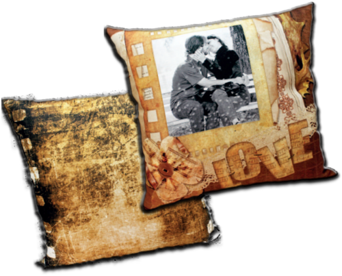 "Federa Quadrata Full-Photo CLASSIC  ""Pellicola Love"" - SCONTO 20%"