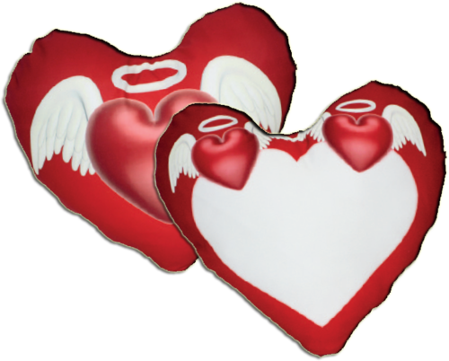 "Federa Cuore Full-Photo fronte/retro ""Angeli"" - SCONTO 20%"