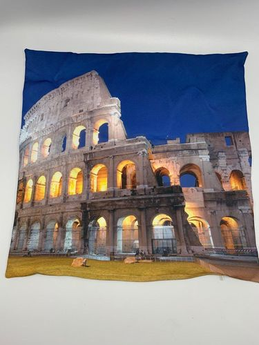 "Federa Quadrata 1 Lato con immagine Full-Photo ""COLOSSEO"" - SCONTO 50%"